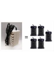 Электрод ОСМ-2 на 150-180 (200) процедур - расходный материал для приборов ION DETOX- SPA. Приблизительно через 150-180 сеансов детоксикации его следует заменить. Срок эксплуатации зависит от состава и жесткости используемой воды.